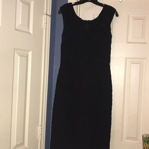 Ladies Black Cocktail Dress